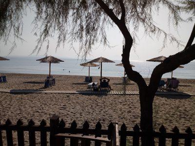 Beach, Akti Salonikiou, Ilia's House