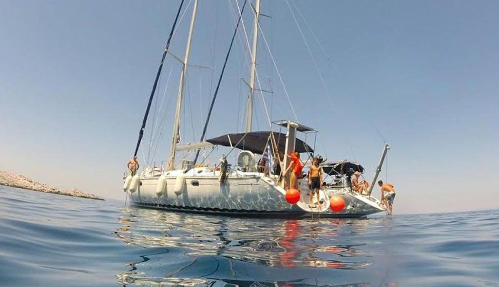 Sailing cruise Sithonia