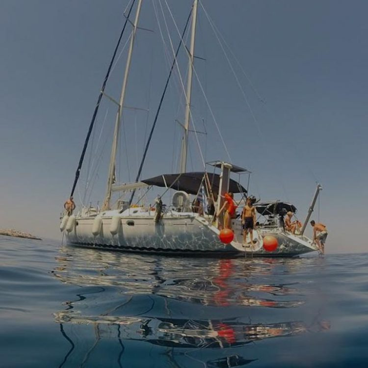 Sailing cruise Sithonia Nikiti