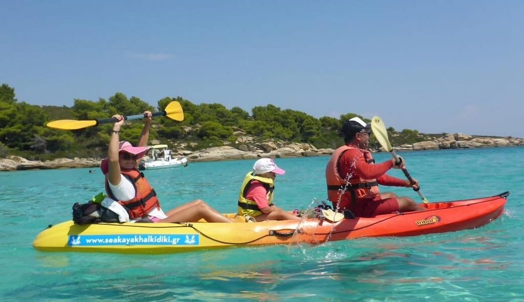 Sea Kayak Sithonia Halkidiki